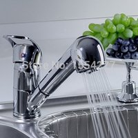 arc kitchen faucet - kitchen sink mixer Single Handle Low Arc Pull Out Chrome with Two Pull Out Sprayer Model Kitchen Sink Faucets