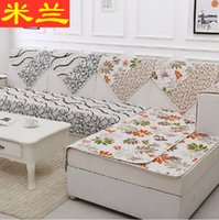 Wholesale Europe type Double sided non slip mat of cloth art sofa cushion cover all of the four seasons spring summer winter customized