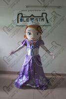 Cheap POLE STAR MASCOT COSTUMES frozen princess sofia mascot costumes purple dress princess costumes