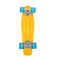 Wholesale High quality Skate Board quot Lightweight Complete Durable Plastic Skateboard for Boy Girl Outdoor Activities Colors