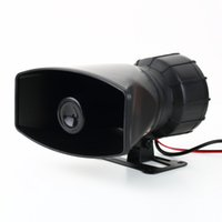 auto pa systems - 1pcs Van Truck PA System W Loud Horn V Car Siren Auto Max dB Sounds tone Newest