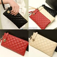 Wholesale Holiday Sale New European style Women Ladies Day Clutch Purse Long Leather bags Zipper Wallet b4 SV002310