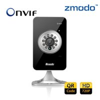Wholesale Zmodo Brand HD P Wireless WIFI MP P2P cctv security Camera with Audio SD Card input support R Code Smartphone Setup