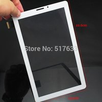 Wholesale 9 quot White Glass Touch Panel Replacement for Bassoon p2000 Black Tablet PC Touch Screen fpc ao vo1kq tracking