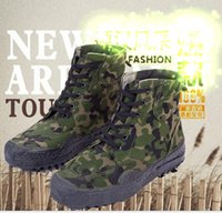 Wholesale Men And Women Military Tactical Camouflage Combat Outdoor Sport Army Training Boots Desert Botas Hiking Shoes Size