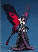 accel products - sega anime Accel World Kuroyuki hime figure Black Lotus doll toy gifts Butterfly