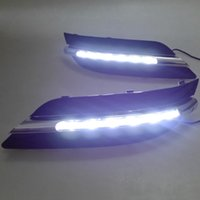 acura abs light - 1 Pair Car Styling LED DRL Daytime Running Light Fog Lamp ABS For Mercedes Benz W245 B150 B170 B180 B200 B245