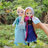Wholesale 2014 new frozen doll cm inches ELSA Anna plush toy doll action figure doll frozen