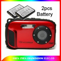 Wholesale 16Mega pixels Waterproof Camera hd with inch screen Zoom x camera digital Total Battery