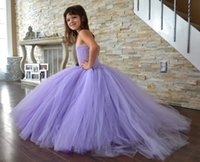 ruffle yarn - Children Evening Dress Bubble Skirt Children Evening Dress Girls High grade Net Yarn and Waist Mop the Floor Dress Kids Slim Bubble Skir