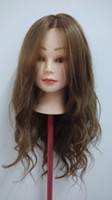 asian hair dying - 75 Real Human Hair Training Mannequin Head Practice Model Head Asian Face Clamp Stand Holder
