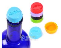 wine accessories - Wine Stoppers Beer Bottle Caps Best Wine Gifts Accessories for Wine Bottles Seal Wine with Reusable Silicone Bottle Cap Art