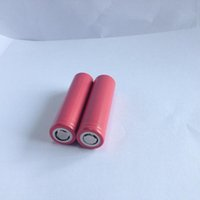 Wholesale 100 Original battery mAh V rechargeable battery VS vtc4 vtc5 lithium battery have Testing Data Certification