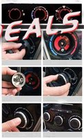 Wholesale Refitting Fit For Mazda M3 Mazda M5 Mazda2 M2 Mazda A C air condition panel control knobs car stickers A3A5