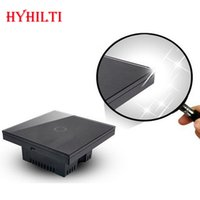 Wholesale China Hilti New Design UK Model Touch Control Light Switch Waterproof Glass Cover Overload Protections