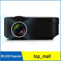 Wholesale Newest mini portable Home Theater lumens Cinema support Full HD P HDMI USB LCD projector projetor beamer