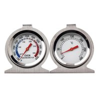 Wholesale 1pcs Stand Up Food Meat Dial Oven Thermometer Temperature Gauge Gage A5