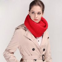 Wholesale New Arrival Winter Scarves Women Knitted Ring Scarf Acrylic Soft Fabric Ladies Scarves Many Colors