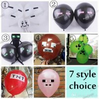 latex cartoon - Cartoon Balloons Latex Party Decorations TNT Cow Wolf Pig Design Supplies Material Must Haves Children Kids Boys Girls