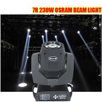 beam lighting disco - Osram w sharpy R beam moving head light for disco bar club with in flight case package DHL