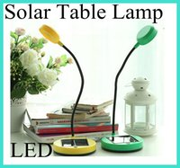 Wholesale Multifunctional Solar Powered LED Reading Light Emergency Table Night Light eye protection Lamp Solar Mobile Power Bank