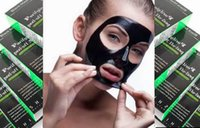 olive oil - 200pcs Hot Black Suction Mask Anti Aging ml SHILLS Deep Cleansing purifying peel off Black mud Remove blackhead facial mask Shills Masks