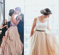 beads blog - Chiffon Flouncing Wedding Skirt Real Wedding Blogs New Fashion Ruffles Big Ruched Bridal Gowns Customize Bridal Skirt Half Skirts
