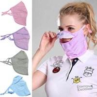 Wholesale Outdoor Golf Mask Breathable Neck Face Cover Sports Respirator Sun UV Protection