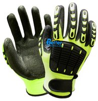 Wholesale Anti Vibration Working Gloves Vibration and Shock Resistant Glove Anti Impact Mechanics Work Glove