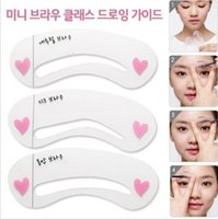 beauty assistant - Eyebrow Grooming Shaping Assistant Template Eyebrow Drawing Card Brow Make Up Stencil Kit Beauty Tool