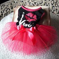 in season clothing - 2015 hot style in Europe and the pet fashion dress Red lip bow veil pet clothes