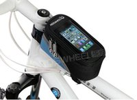 Wholesale Cycling Bike Bicycle Frame Iphone Holder Pannier Mobile Phone Case Bag