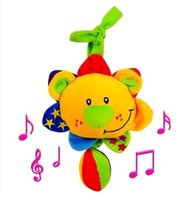 baby product brands - 0 months toys Tolo LIon musical plush Toy for baby child brand product music box bed car hanging development toys