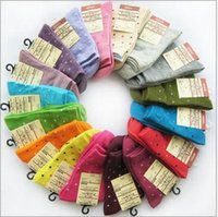 women cute socks - Cute Candy Dots Polka Dot socks Women shipping Picture1 pieces pairs