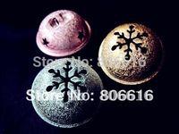Wholesale 30Pcs mm Mixed Color Copper Jingle Small Bells Fit Festival Christmas Decoration Jewelry Pendants