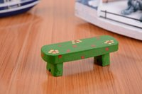 Wholesale Japanese Style resin Small Seat Home Decorative Stool Children toy gift