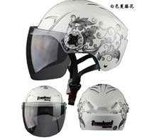 Wholesale Genuine tolerance Tanke Xia helmet motorcycle helmet electric car half helmet Summer Helmet men detachable T505