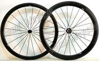 Wholesale Powerway R13 mm clincher wheels C road bike full carbon bicycle wheelset with Powerway R13 hub