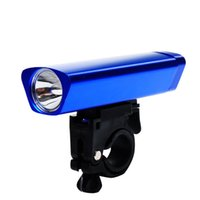 Wholesale Other Outdoor Lighting high quanlty Bicycle headlight bicycle light aluminum flashlight riding equipment baterry not included