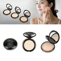 Wholesale MUSIC FLOWER Professional Makeup Fix Powder Face Concealer Pressed Powder Foundation with Powder Puff