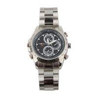 Wholesale Pocket Warterproof GB HD Camcorder Steel Belt Wrist Watch Video Mini DVR Recorder fps Silver Hot