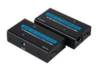 Wholesale 60Meter HDMI Extender D P HDMI Extension over Cat5E with HDMI