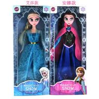 Wholesale frozen dolls anna and elsa doll toys boneca bonecos olaf fever juguetes bonecas pelucia princesa brinquedos