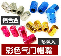 Wholesale by DHL sets Cheap mm Auto Car Motorcycle Metal Tire Tyre Pressure Valves Decorated Air Stem Caps Cover Auto Car