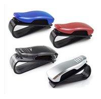 Wholesale 10PCS Factory Price ABS Engineering Plastic Car Clip Vehicle Accessory Sun Visor Sunglasses Eye Glasses Card Pen Holder Clip