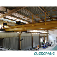 Cheap Double beam bridge cranes CHD Series with Wire Rope Electric Hoists 3.2 tons - 63 tons box beam $2000- $15000  set