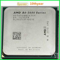 amd quad cpu - A6 A8 A8 K original desktop CPU AMD A6 G M FM1 pin Quad Core