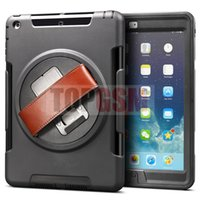Smart Cover/Screen Cover air tote - iPad Case Hybrid Heavy Duty Shockproof Case Cover Stand for Apple iPad Air iPad nd iPad Air iPad iPad mini mini Free Ship