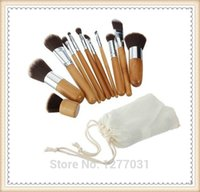 bamboo styling products - Bamboo Brushes Makeup Styling Tools Cosmetic Beauty Products Eye Shadow Foundation Concealer Brushes Set Kits