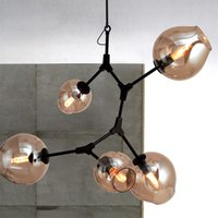 ad master - Lindsey Adelman Lights Branching Bubble Glass Chandelier Modern Fashion Creative Art Pendant Light Office Living Room Light By Lindsey Ad